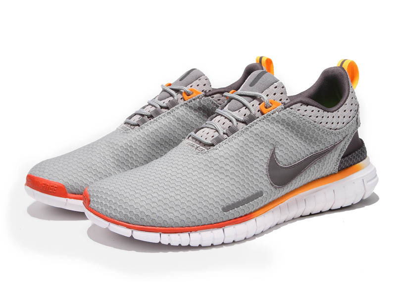 Nike Free OG 2014 Running Shoes Grey Orange White