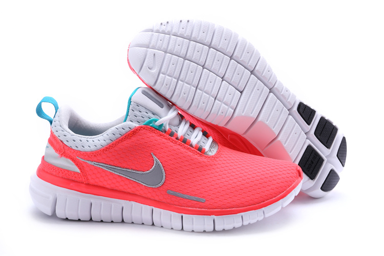 Nike Free OG 2014 Running Shoes Pink White
