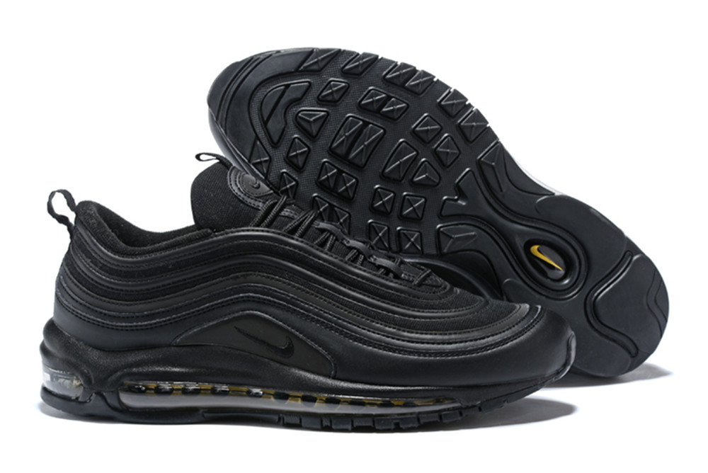 NIKE W AIR MAX 97 Bullet All Black Shoes