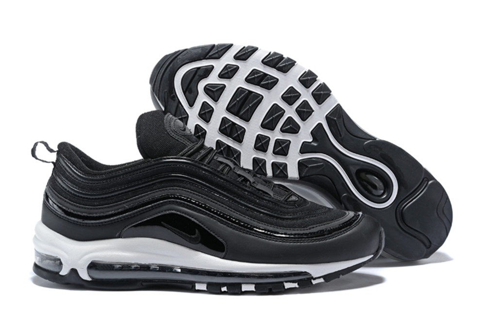 NIKE W AIR MAX 97 Bullet Black White Shoes