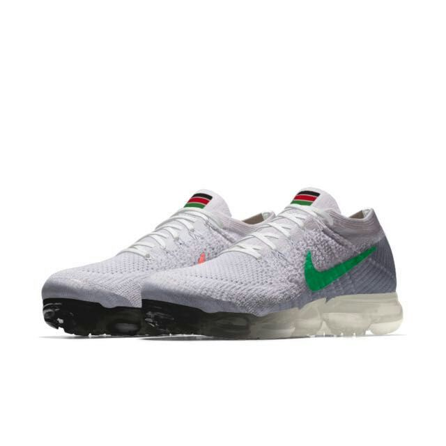 New 2018 Nike Air VaporMax National Flag White Green
