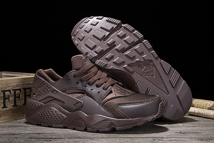 New Women Nike Air Huarache Coffe Shoes