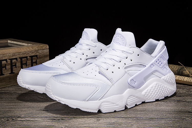 New Women Nike Air Huarache White Shoes