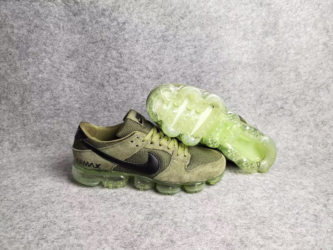 New Nike Air Max 2018 Army Green Black Shoes
