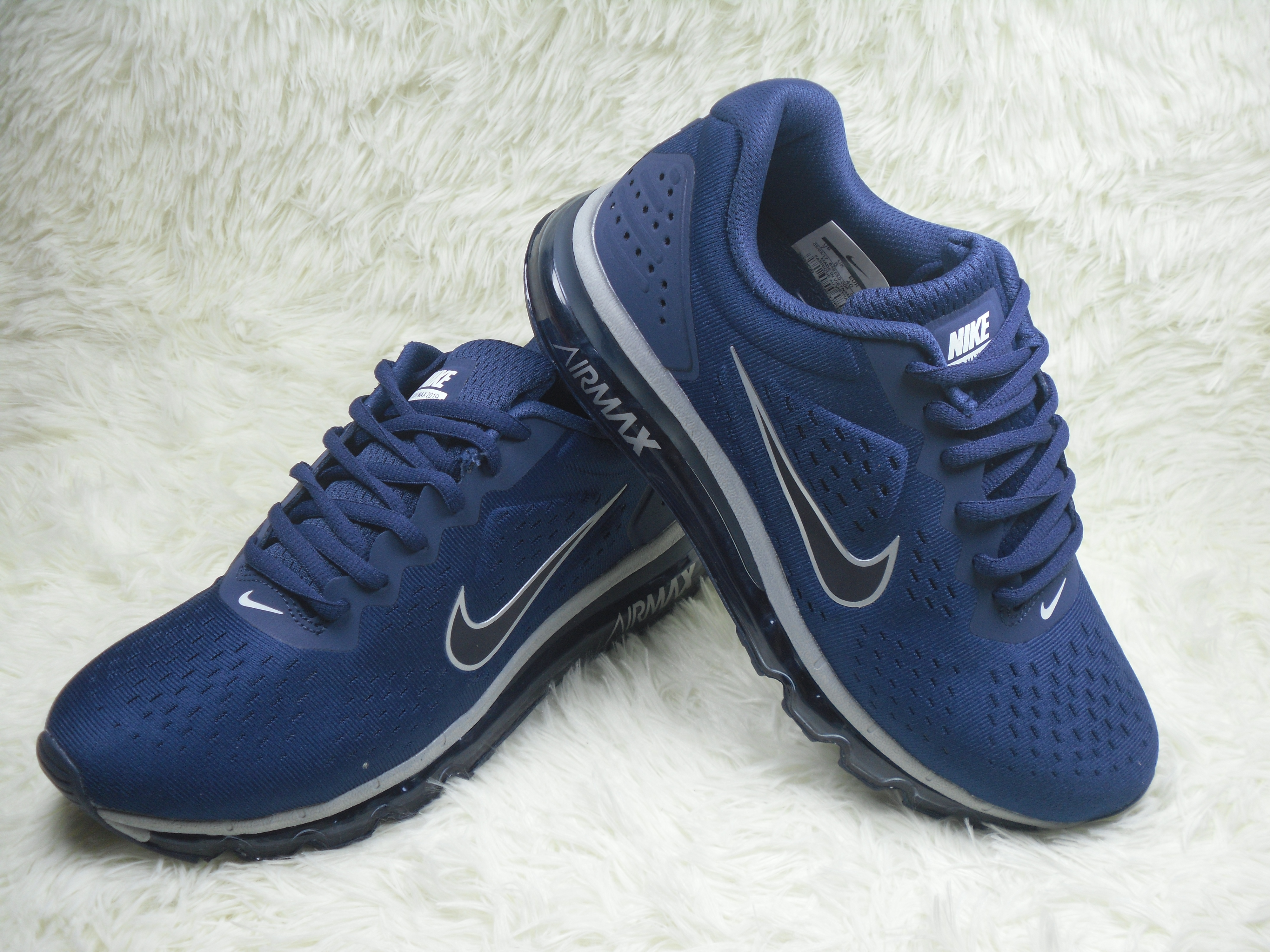 New Nike Air Max 2019 Deep Blue White