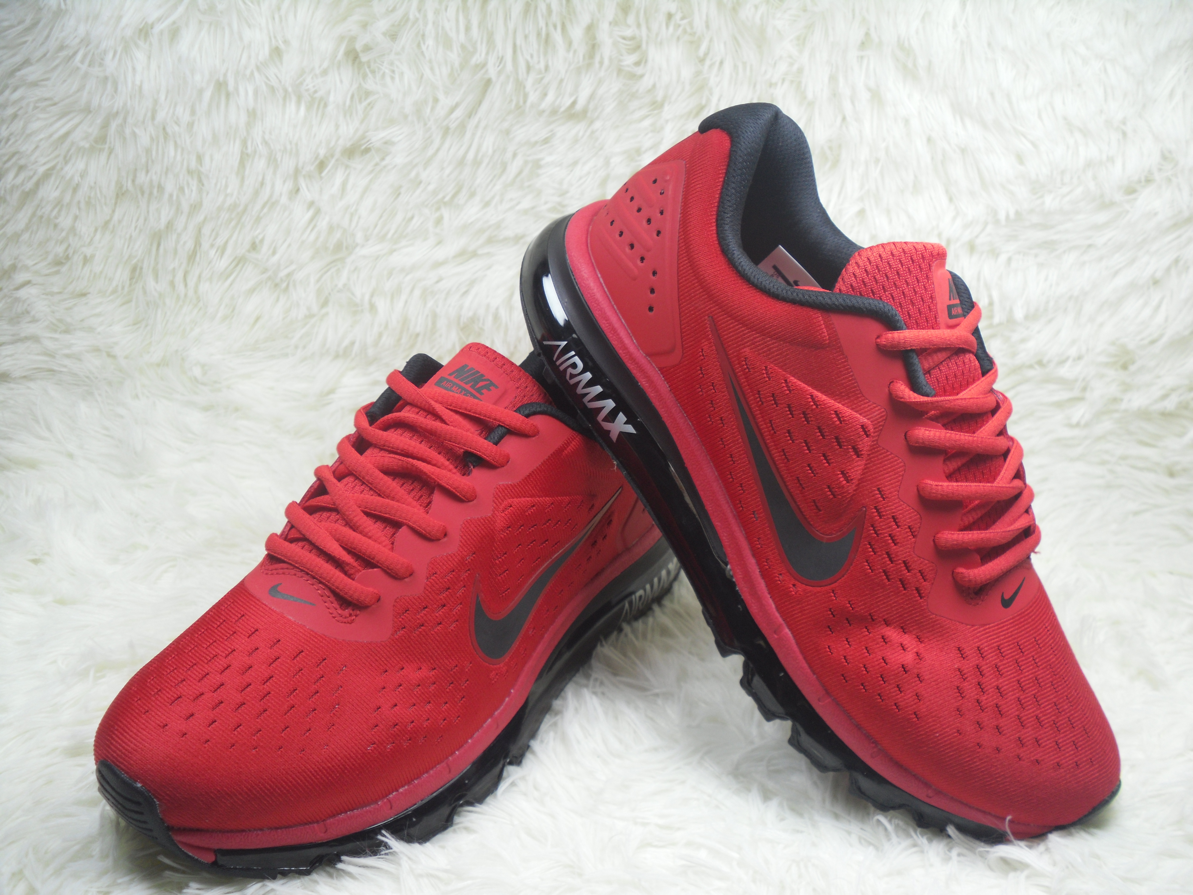 New Nike Air Max 2019 Red Black