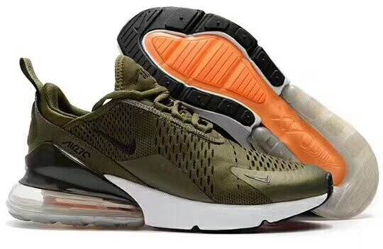 New Nike Air Max Flair 270 Nano Army Green Shoes