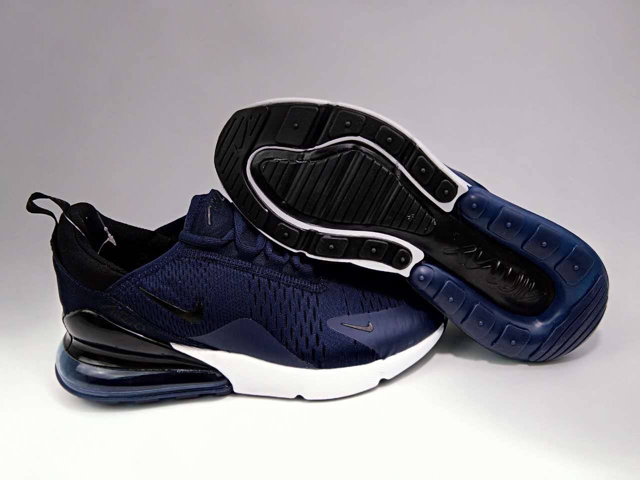 New Nike Air Max Flair 270 Nano Deep Blue Shoes