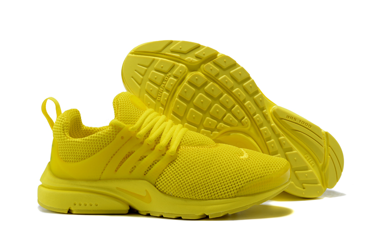New Nike Air Presto 1 Fluorscent Yellow Shoes