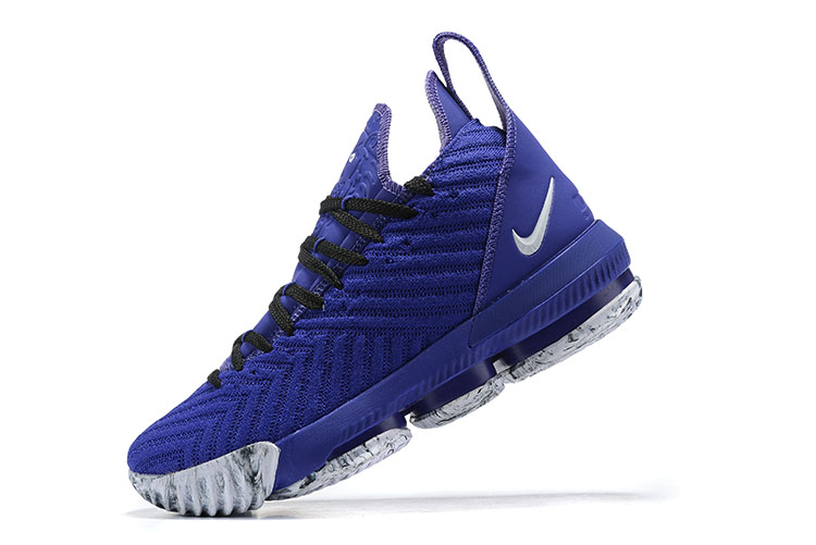 2019 Nike LeBron 16 Royal Blue Black White Grey
