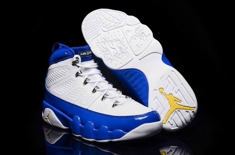 New Air Jordan 9 Kobe Bryant PE White
