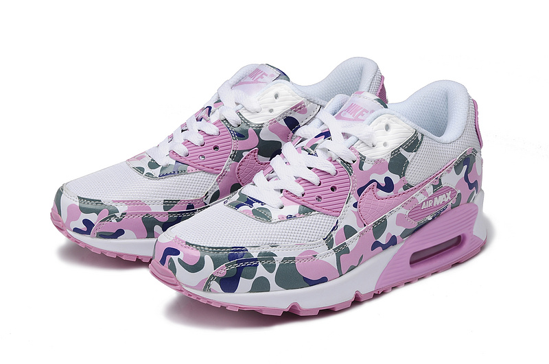 Nike Air Max 90 Pink Army White For Women