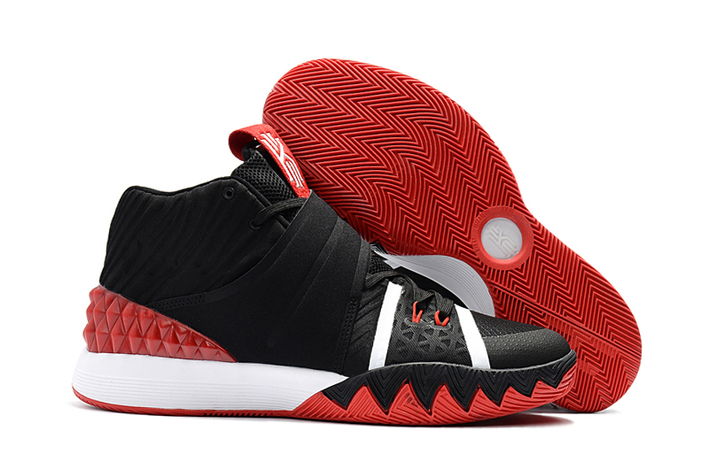 Kyrie S1 Black White Red Shoes