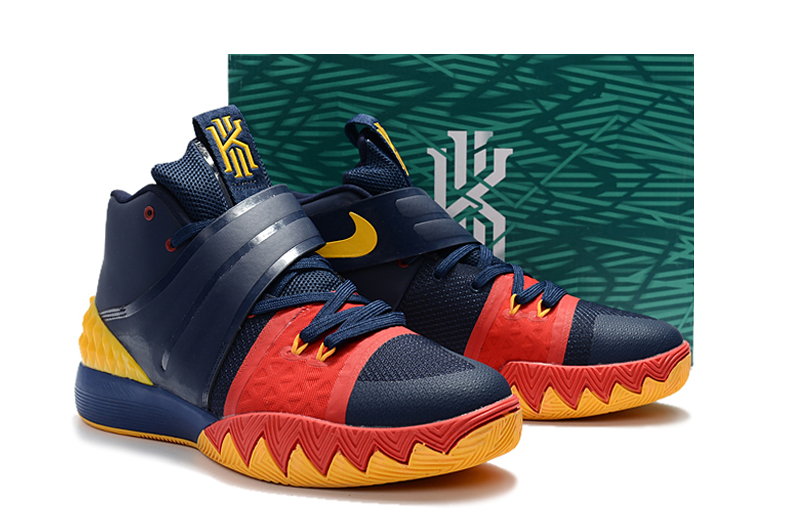 Kyrie S1 Dark Blue Red Shoes
