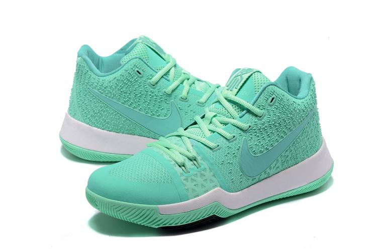 8f49f12875aa New Men Nike Kyrie 3 Light Blue White Shoes  NBAKETBALL661  -  82.00 ...