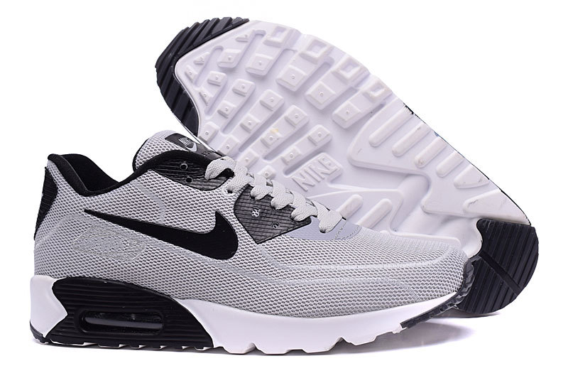 New Nike Air Max 90 Midnight Firefly Grey Black Shoes