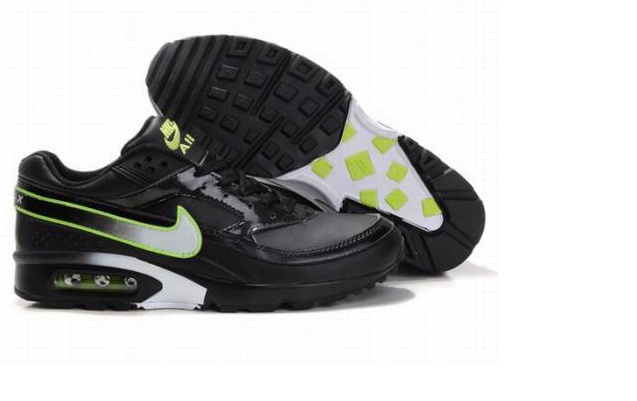 New Nike Air Max BW Black Fluorscent Shoes