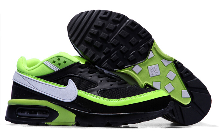 New Nike Air Max BW Black Green Shoes