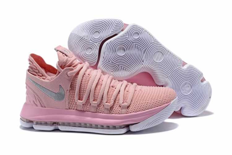 New Nike KD 10 Pink Breast Cancer Shoes