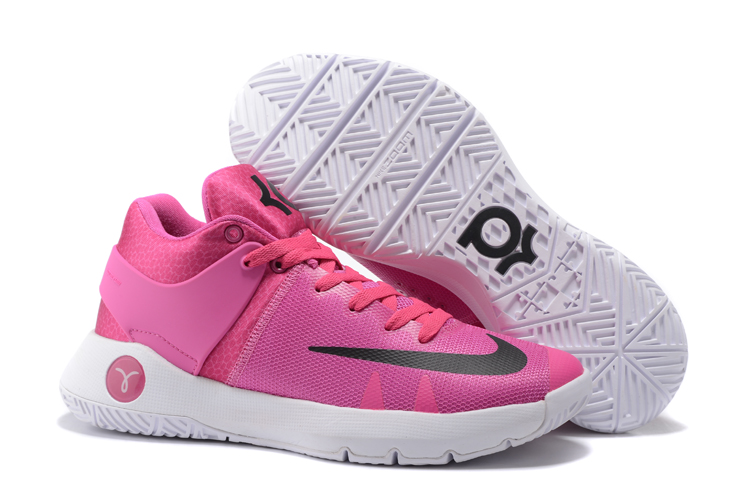 New Nike KD Trey 5 Pink White Black Shoes