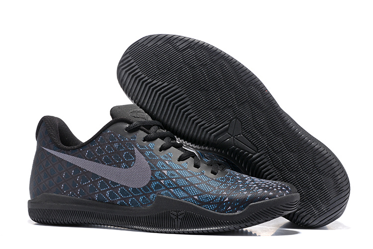 New Nike Kobe 12 Black Blue Shoes