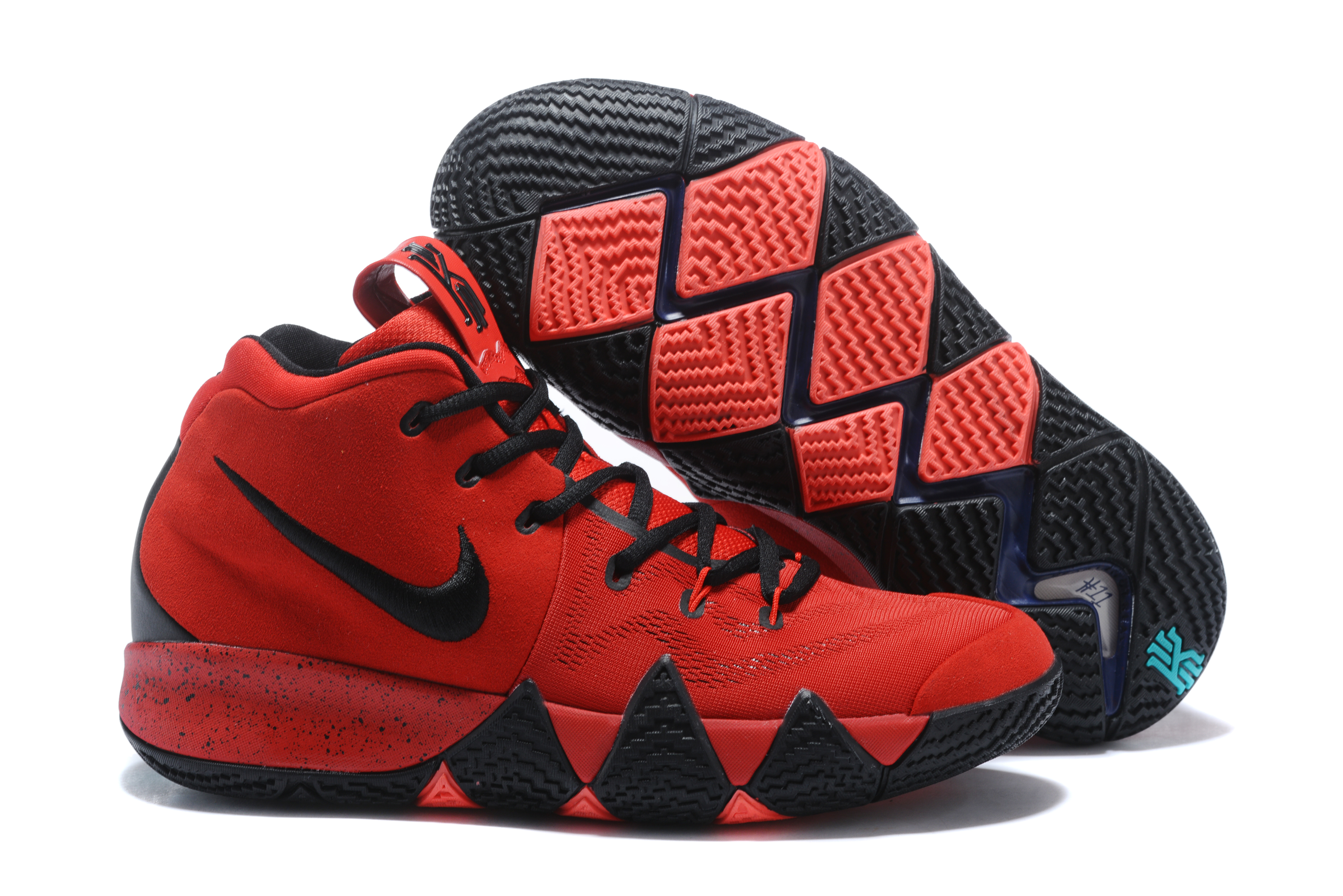 Newly Nike Kyrie 4 Black Red Shoes