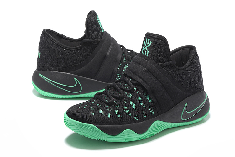 New Nike Kyrie Irving 2.5 Black Green Basketball Shoes