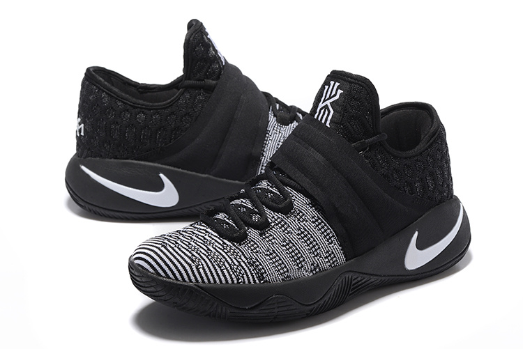New Nike Kyrie Irving 2.5 Black White Basketball Shoes