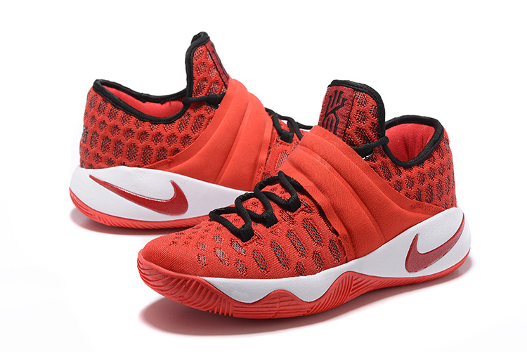 New Nike Kyrie Irving 2.5 Red Black Basketball Shoes