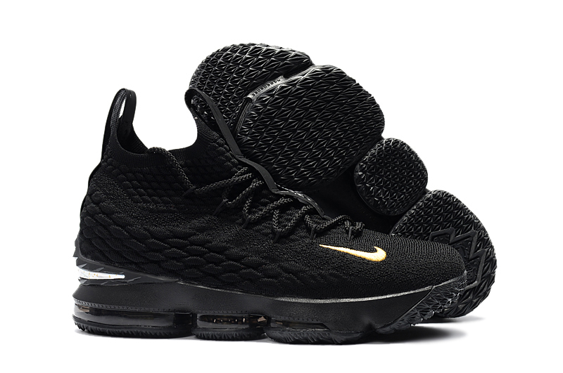 New Nike Lebron 15 Black Exclusive Shoes