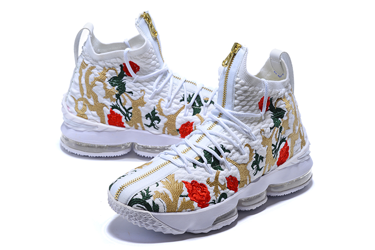 best website 9aa4e 60b31 New Nike Lebron 15 Flowers Shoes [NS1143] - $85.00 : Real ...