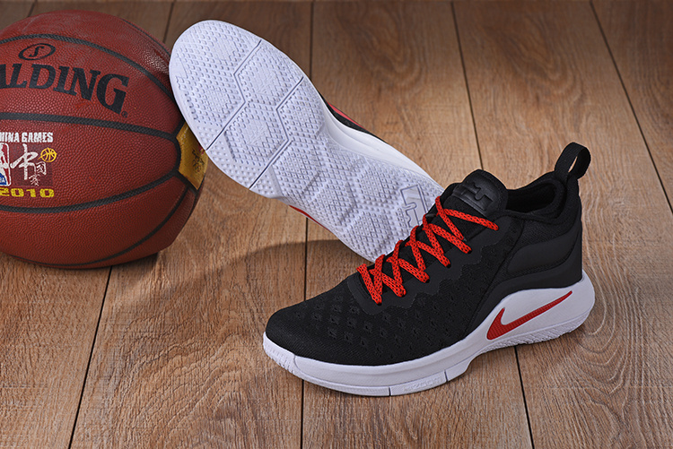 Nike Lebron Wintness Flyknit 2 Black Red Shoes