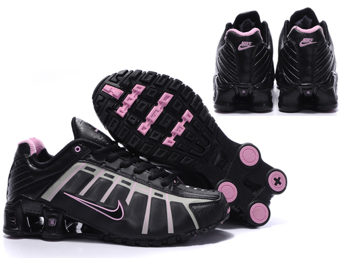 New Nike Shox NZ 3 Shoes Black Pink For Women