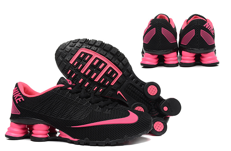 New Nike Shox Turbo 21 Shoes Black Pink For Women
