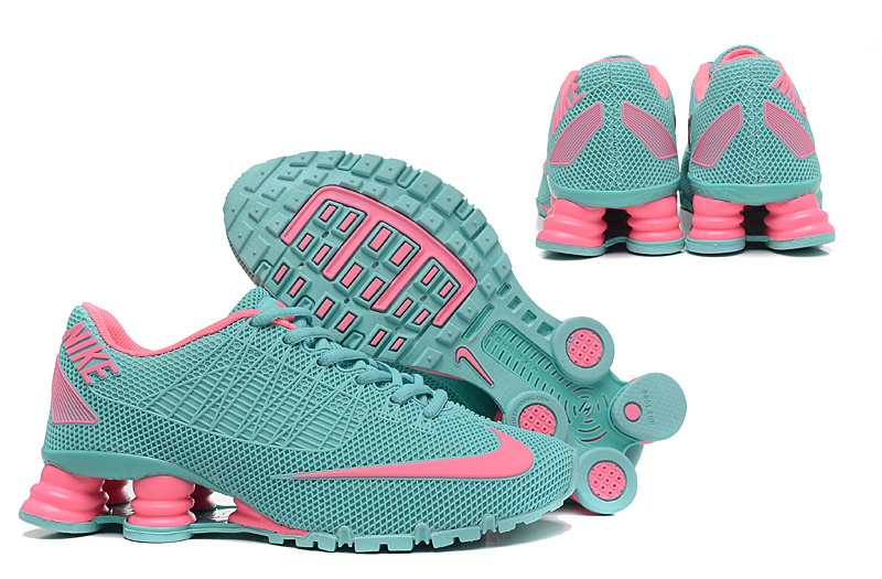 hot sale online e5046 52af3 New Nike Shox Turbo 21 Shoes Green Pink For Women