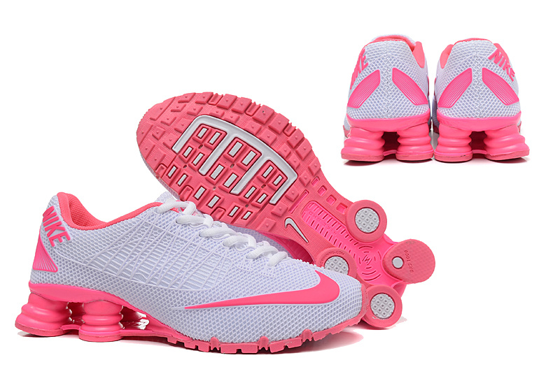 New Nike Shox Turbo 21 Shoes Grey Pink For Women