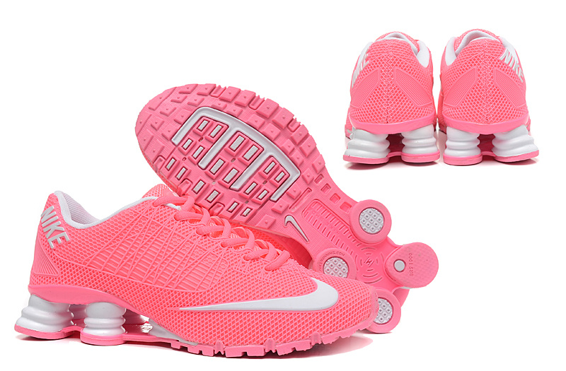New Nike Shox Turbo 21 Shoes Pink White For Women