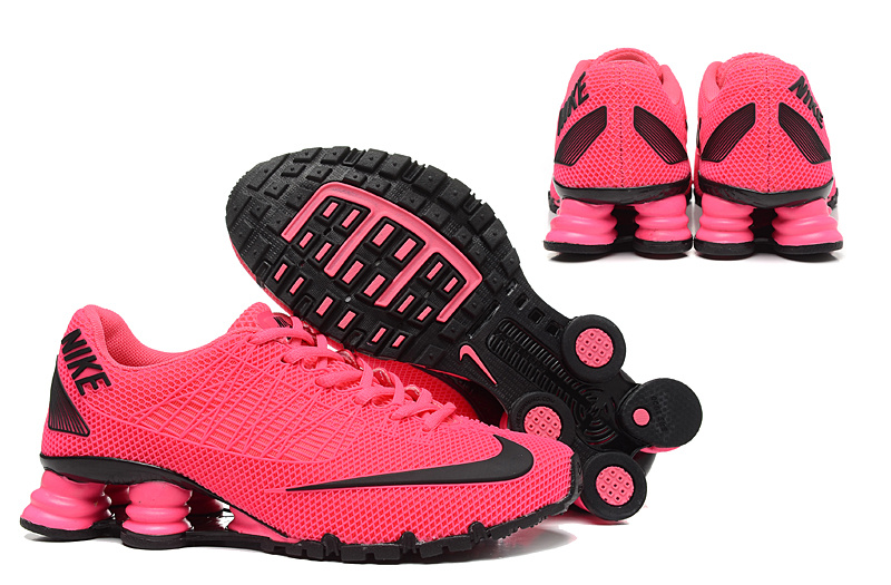 promo code 86d1c 488a7 New Nike Shox Turbo 21 Shoes Red Black For Women