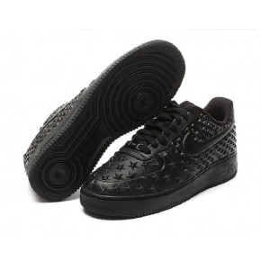 New Women Nike Air Force 1 Low All Black Shoes
