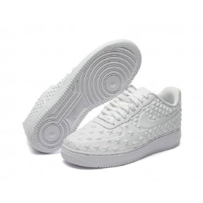 New Women Nike Air Force 1 Low All White Shoes