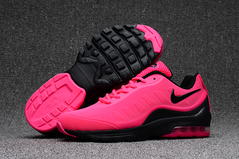 New Women Nike Air Max 95 Red Black Shoes