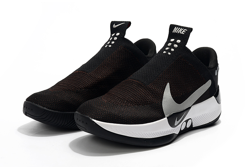 Nike Zoom Adapt BB Black Wine Red Silver