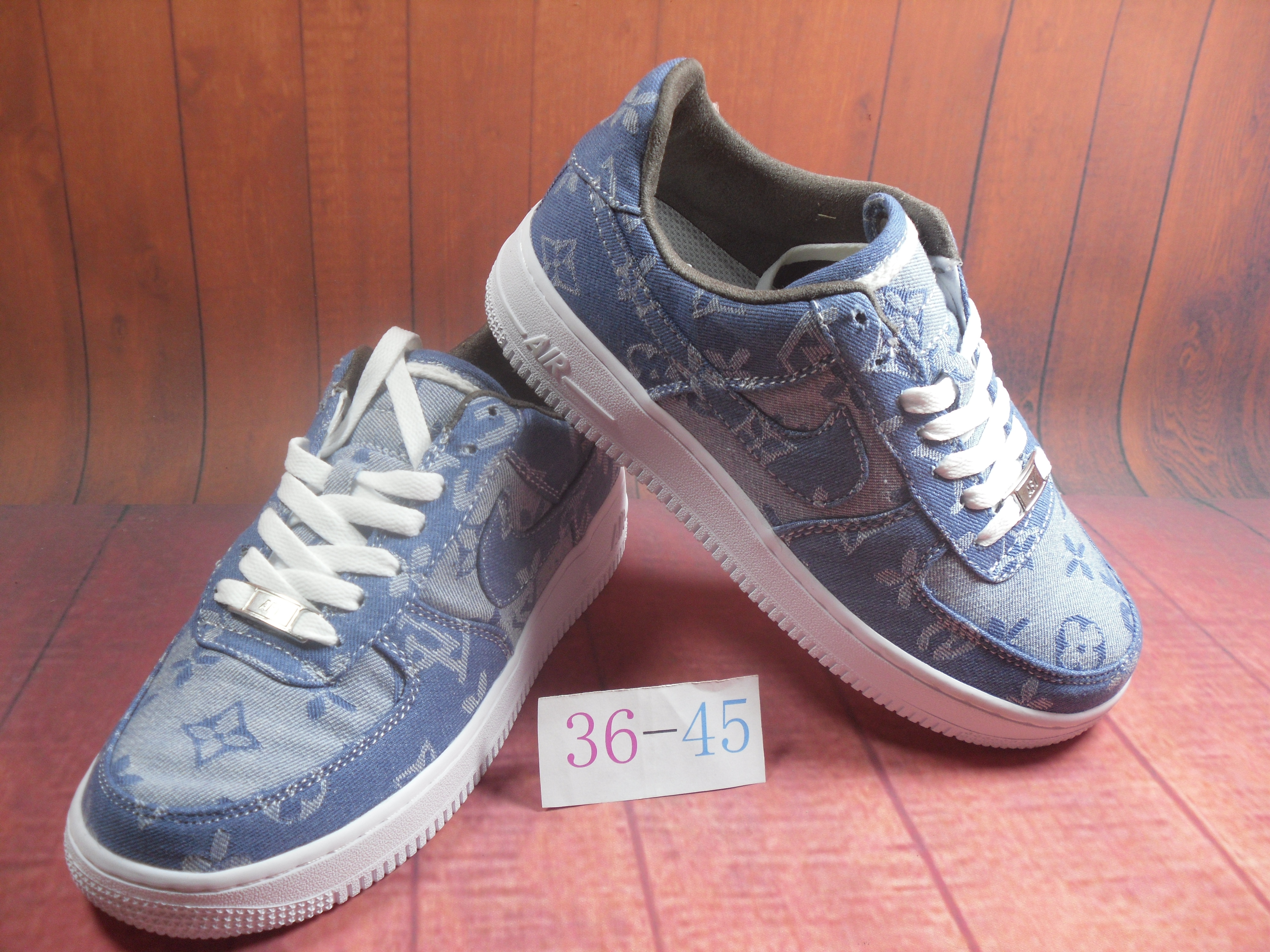 Nike Air Force 1 Jade AF1 Blue White For Women