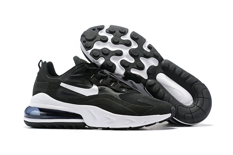 Nike Air Max 270 React Black White Shoes