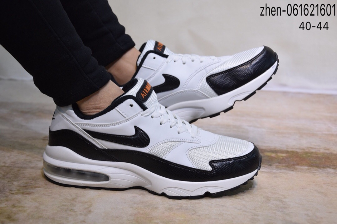 Nike Air Max 93 White Black Shoes