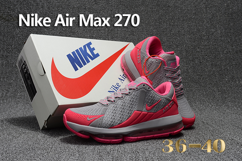 4159d3682c6a0 Nike Air Max Flair Grey Pink Running Shoes For Women