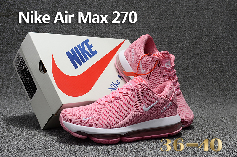 Nike Air Max Flair Pink White Running Shoes For Women