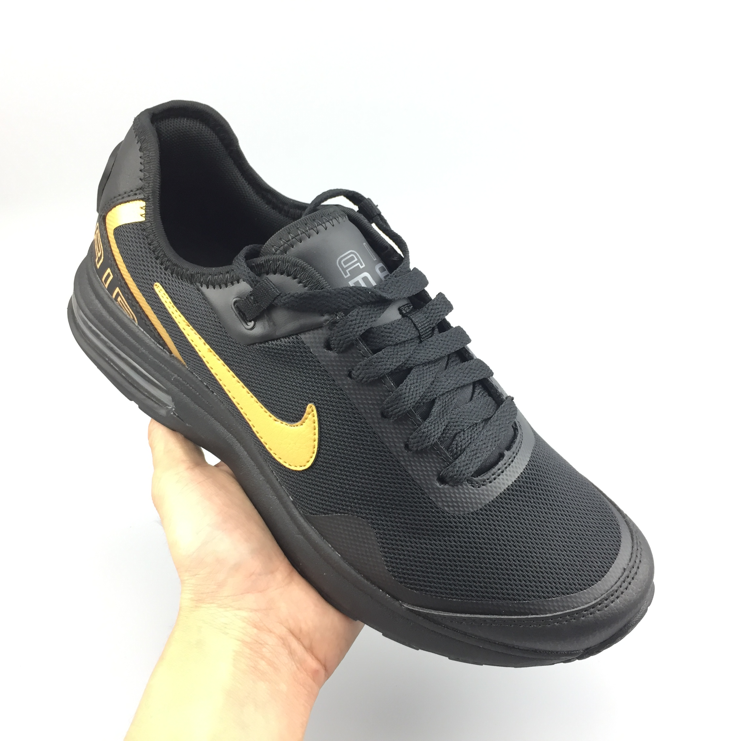 Nike Air Max LB Black Yellow Shoes