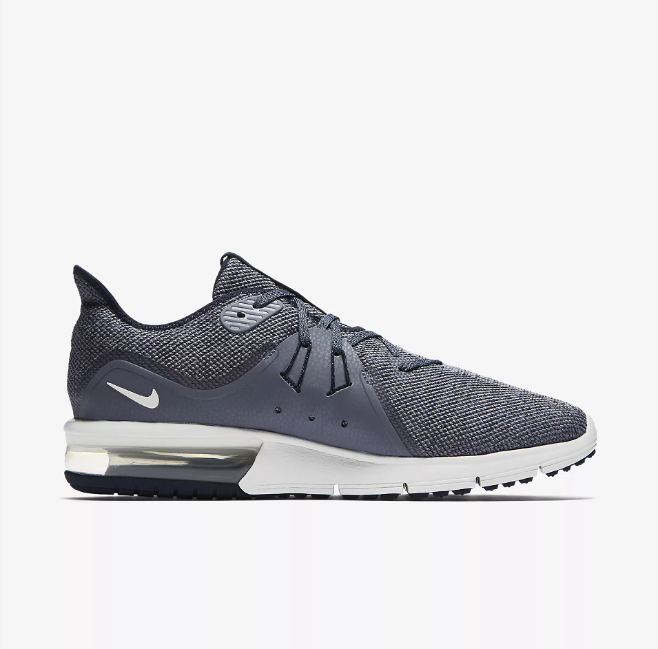Nike Air Max Sequent 3 Grey Black Shoes