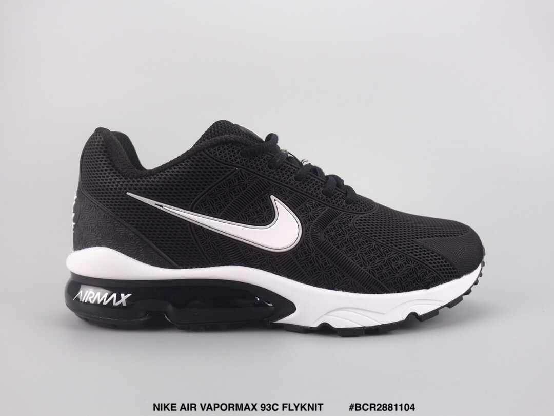Nike Air Max VaporMax 93c Flyknit Black Shoes